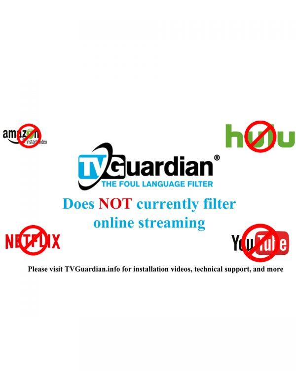 TVGuardian No Streaming